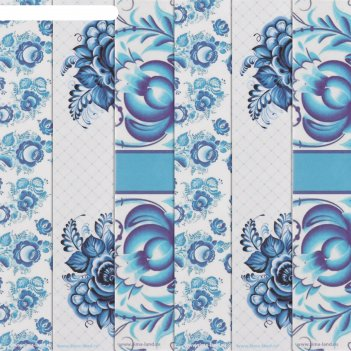Бумага для творчества «зимнее удовольствие», 6 шт, 16 x 16 см