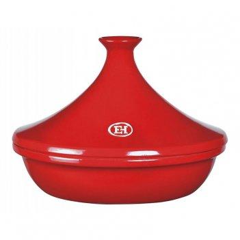 Тажин 3 литра, 32 см emile henry керамический, цвет: гранат