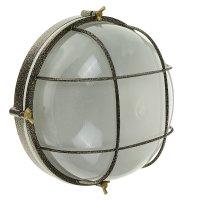 Светильник элетех терма 1102 круг с реш. нбб 03-60-010, 60 вт, ip65, цвет