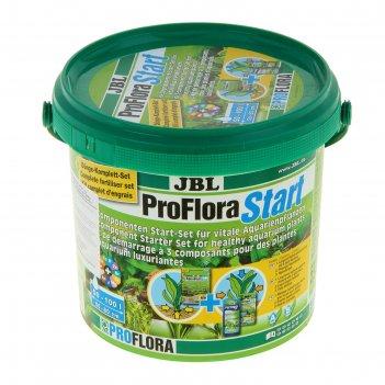 Комплект стартовый для живых аквариумных растений jbl proflorastart s, 3-х