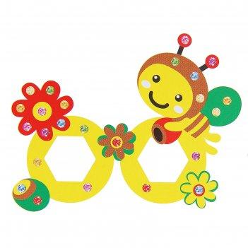 Набор для творчества создай очки - пчелка