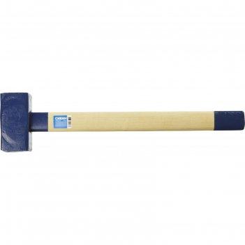 Кувалда сибин 20133-5, с деревянной удлинённой рукояткой, 5 кг