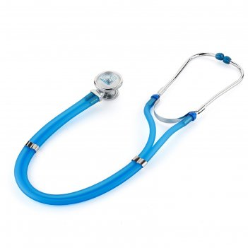 Стетофонендоскоп cs medica cs-421, тип раппапорт, цвет голубой