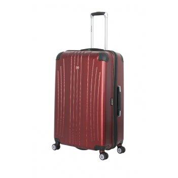 Чемодан wenger ridge, цвет бордовый , абс-пластик, 49,5х30,5х75 см , 92л