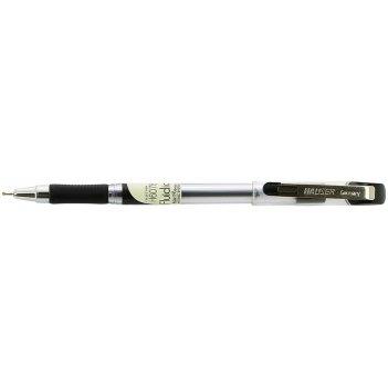 Шариковая ручка hauser fluidic, пластик, цвет черный