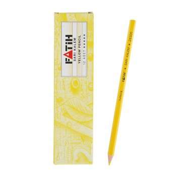 Карандаш специальный fatih портного нв, желтый