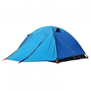 Палатка туристическая wildman™ «аляска», 3-х местная, двухслойная, 210x150
