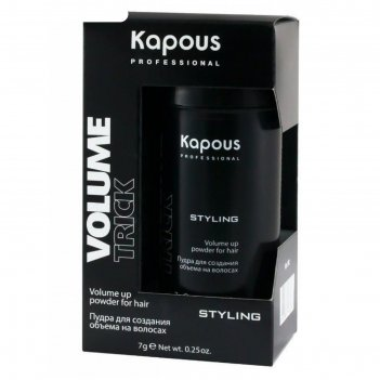 Пудра для создания объема на волосах kapous volumetrick, 7 г