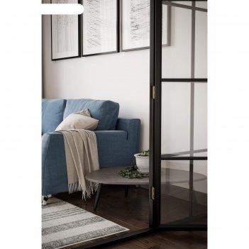 Стол журнальный «стэм», 940 x 690 x 270 мм, цвет серый бетон