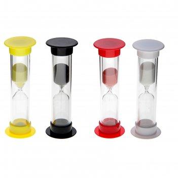 Часы песочные 5 минут 9см микс