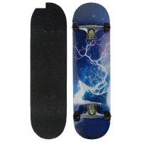 Скейтборд №805, размер 78x20 см, колеса pu d= 50 мм, алюминиевая рама, кан