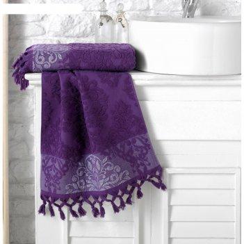 Полотенце ottoman, размер 70 x 140 см, фиолетовый