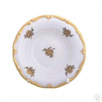 Набор розеток queens crown золотая роза 11 см (6шт)