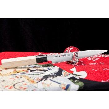 Нож кухонный японский  petty samura okinawa so0105 лезвие 175 мм