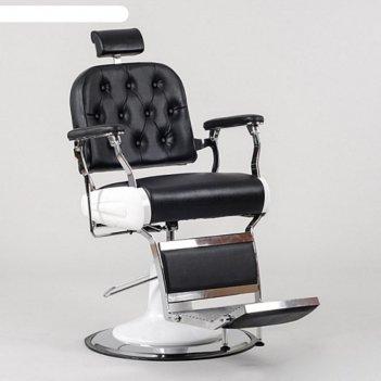 Кресло для барбершопа sd-31850 гидравлика, цвет чёрный