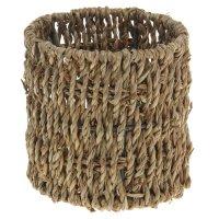 Кашпо плетеное цилиндр 12*12*12 см