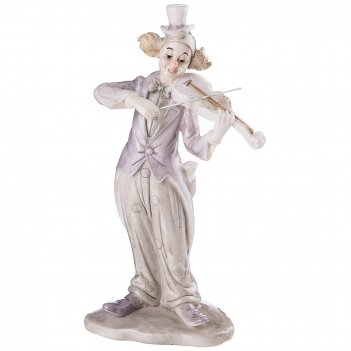 Фигурка клоун 13*7,5*23,5 см. коллекция буффонада
