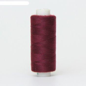 Нитка дор-так pl 40/2 400 ярд, цвет бордовый 525 к09