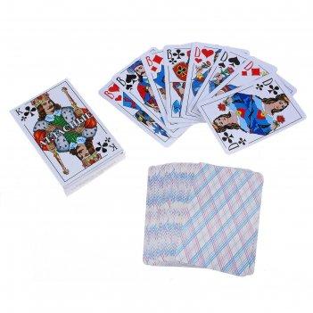 Карты атласные игральные, 54 листа