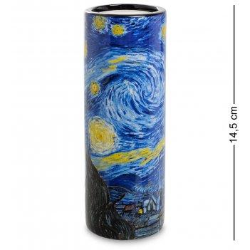 Pr-tc02go подсвечник «the starry night» винсент ван гог (museum parastone)