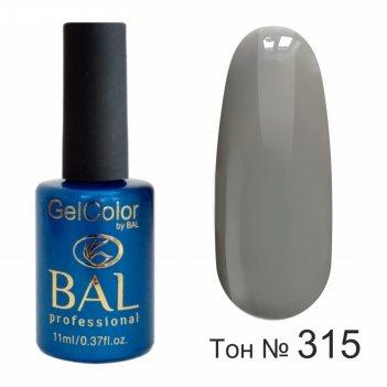 Гель-лак каучуковый bal gelcolor №315, 11 мл