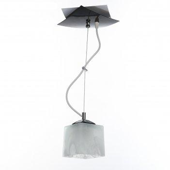 Люстра конверт-экрю, 1 лампа, 60 вт, е27