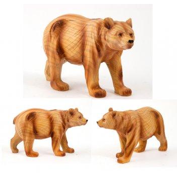 Фигурка декоративная медведь 18*7*10см (уп.1/36шт.)
