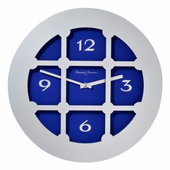 363 b ал/син часы настенные d.40