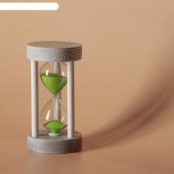 Часы песочные кемадо, сувенирные,  6х11.5 см, песок микс
