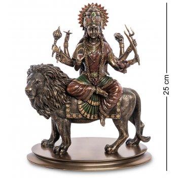 Ws-998 статуэтка богиня дурга - защитница богов и мирового порядка
