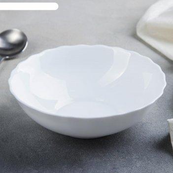 Тарелка суповая 18х5 см леди