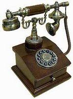 Телефон в стиле ретро 17*17*26см