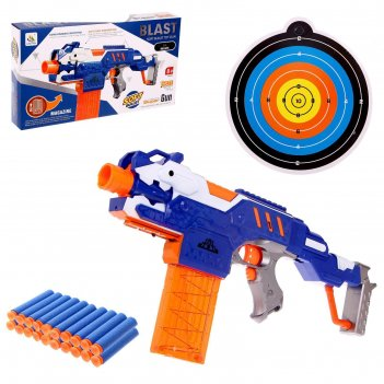 Пистолет крутой стрелок, работает от батареек, стреляет мягкими пулями, с
