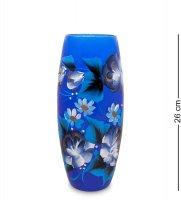 Vz-584 ваза стеклянная жостово h-260