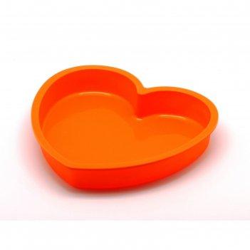 Форма для выпечки сердце, 23.6 х 22.6 х 3.8 см