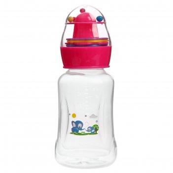 бутылочки с погремушкой
