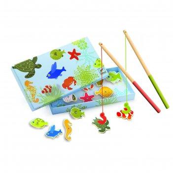 Магнитная игра тропическая рыбалка