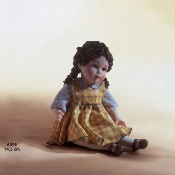 Alice фарфоровая статуэтка, h 15 см