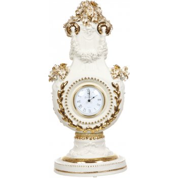 Часы настольные цветы высота=47 см.