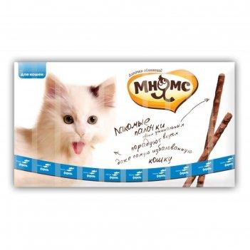 Лакомые палочки мнямс для кошек, с лососем и форелью, 13,5 см, 10 х 5 г