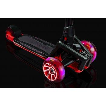 Самокат с ревом мотора, свет.колесами, свет.платформой small rider premium