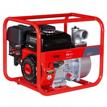 Мотопомпа fubag pg 600, бенз., d=50 мм, для чистой воды, 600 л/мин, 8/26 м