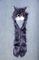 Шапка карнавальная кошка