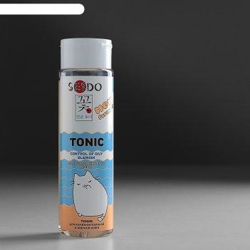 Тоник sendo контроль жирного блеска для комбинированной и жирной кожи, 250