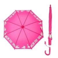Зонт-трость детский вёселая карусель, проявляющийся рисунок, r=43см