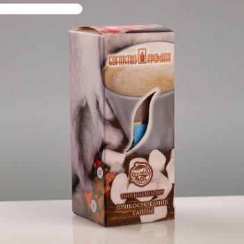 Свеча ароматическая прикосновение тайны, 4x6 см, в коробке