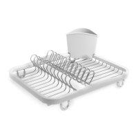 Сушилка для посуды sinkin, материал: пластик, нержавеющая сталь, размер: 1