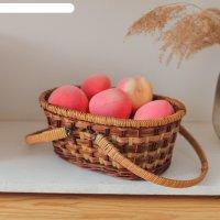 Корзина «пикник», без крышки с 2 мя ручками, 30x21x11/26, ротанг