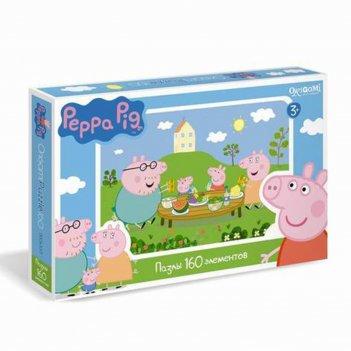 Пазл peppa pig, 160 элементов