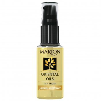 Масло для волос marion, восстанавливающее, 30 мл